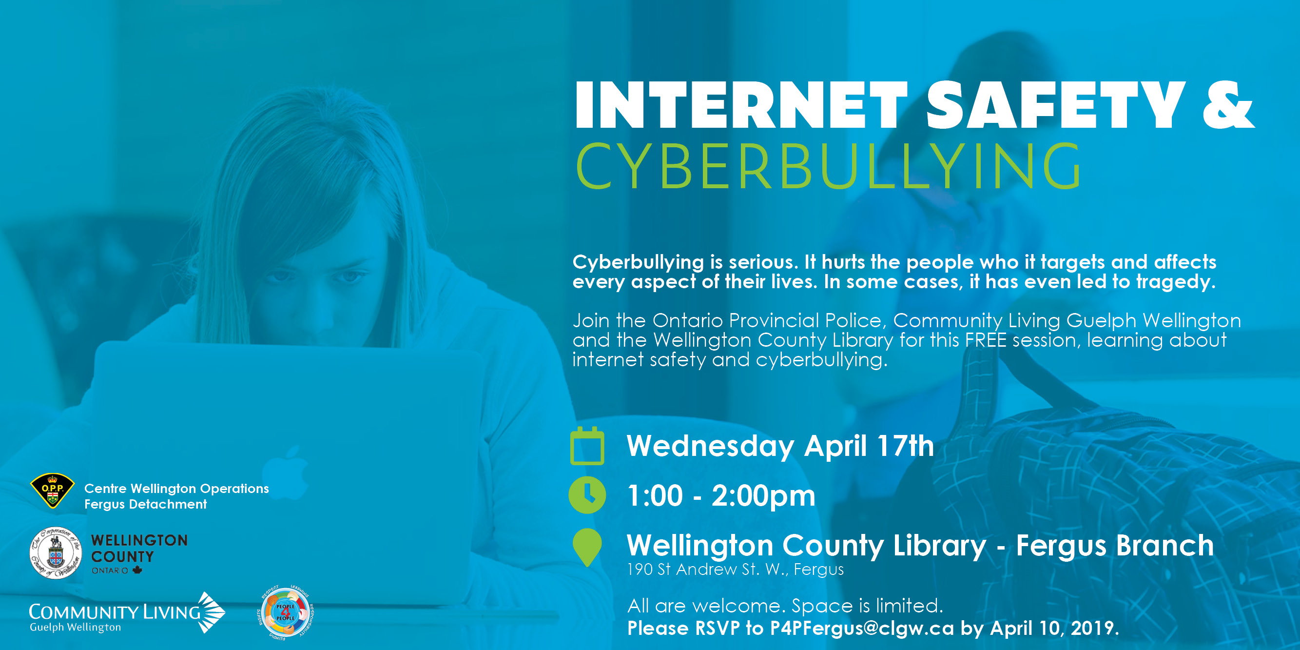 internet safety cyberbullying wellington county community living guelph wellington