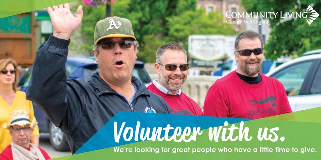 volunteer with us, clgw