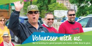 volunteer with us, clgw