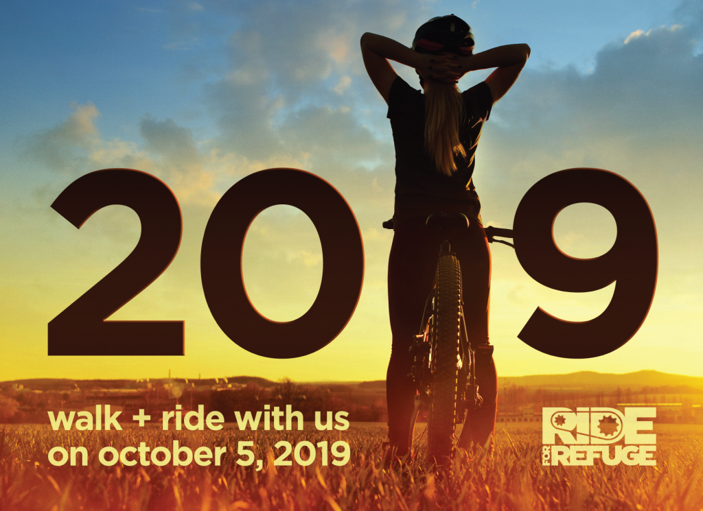 RIDE for Refuge, CLGW, Charity, Fundraiser, Bike Ride for charity