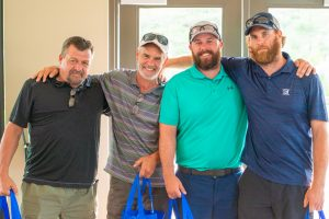 craig dool and team winning low gross at the Norm Jary golf tournament
