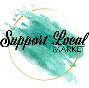 support local, support local market logo, market, guelph ON