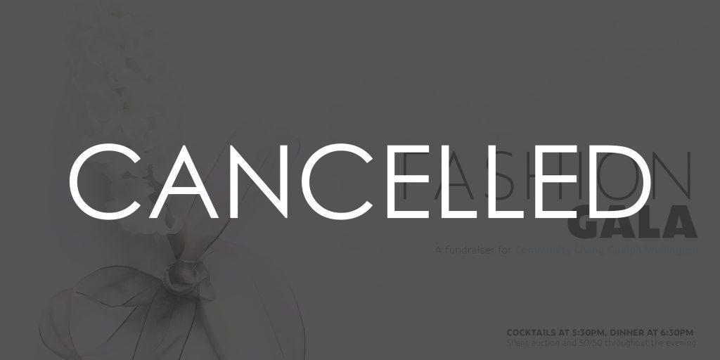 spring fashion gala, clgw, cancelled