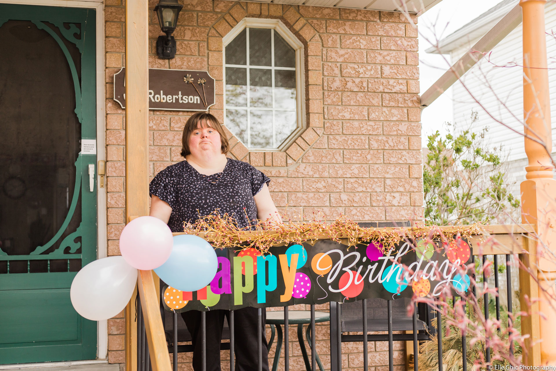 we've got this, photo series, one year later, covid-19, community living guelph wellington, elle chic photography, guelph ontario, disability, frontline heroes, tannis, cooking