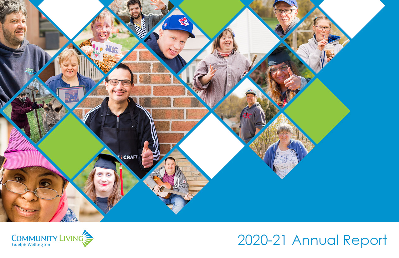annual report, community living guelph wellington, year end, updates, information, campus friends