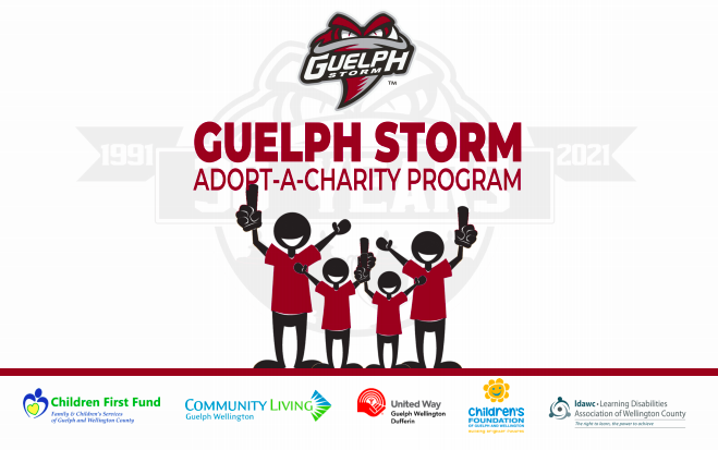 adopt-a-charity, guelph storm, charity opportunities, corporate sponsors